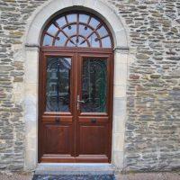 porte entrée bois Bayeux
