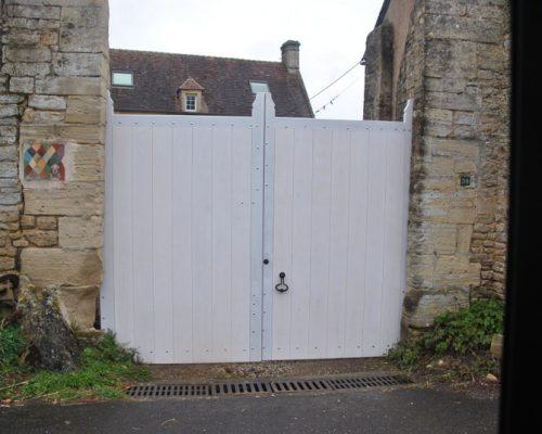 Menuisier près de Bayeux (portails)